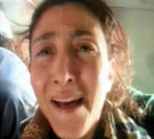 Imagen de Ingrid Betancourt, durante el rescate. (Foto: EFE)