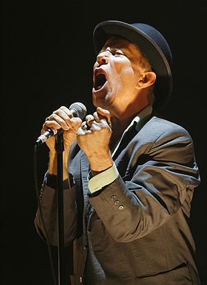 Waits, en uno de sus últimos conciertos, en Estados Unidos. (Foto: AP)