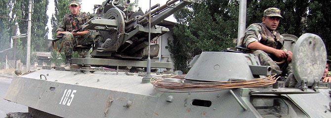 base - Aviones rusos atacan una base militar junto a la capital georgiana 1218197812_1