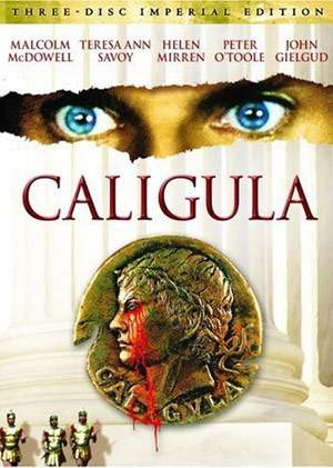 Portada del DVD de 'Imperial Edition of Caligula'.