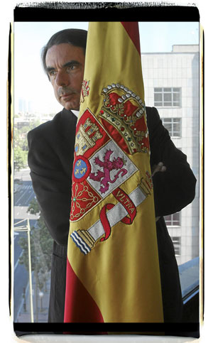 José María Aznar. (Foto: José Aymá)