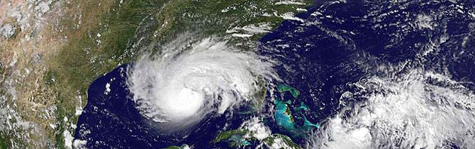 El satélite muestra el avance del huracán 'Gustav'. (Foto: AP) MÁS IMÁGENES Y VÍDEOS