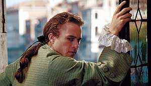 El actor fallecido Heath Ledger, en una escena de la pel�cula 'Casanova'. (Foto: Doane Gregory)