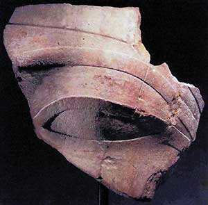 El ojo robado que pertenece a la estatua de Amenhotep III (Foto: EFE)