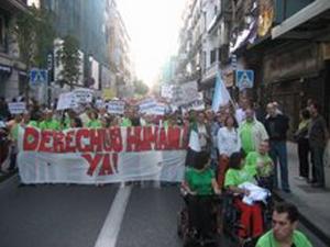 Imagen de la Marcha (Foto:Carlos Pampillón).