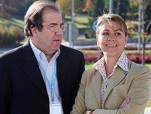 Juan Vicente Herrera y Dolores de Cospedal