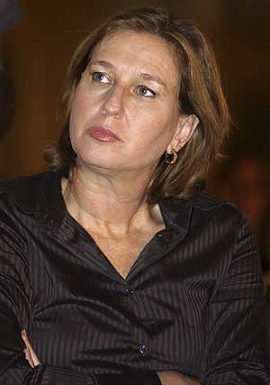 Tzipi Livni, líder del partido israelí Kadima. (Foto: AP)