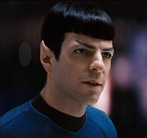 Zachary Quinto, el 'villano' de 'Hroes', interpreta a Spock.