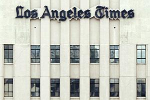 La sede de Los Angeles Times. (Foto: AP)