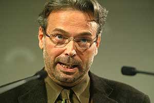 El presidente del Parlament de Cataluña, Ernest Benach. (Foto: Quique García)
