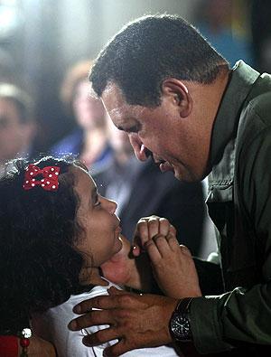 Hugo Chávez, en un acto reciente. (Foto: EFE)