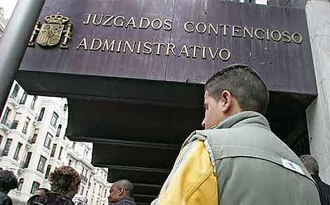 B. E. , en una imagen de 2006, cuando fue anulada su expulsión. (Foto: Carlos Barajas)