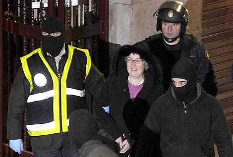 Arantza Urkaregi, una de las detenidas el pasado jueves. | Reuters