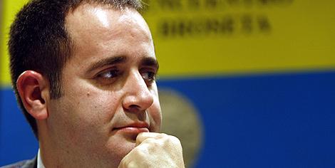 Jorge Alarte, secretario general del PSPV. (Foto: Benito Pajares)