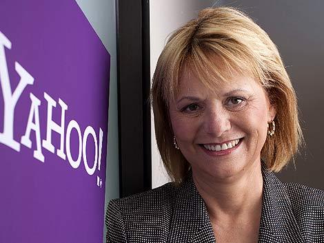 Carol Bartz, la máxima responsable de Yahoo! (Foto: Reuters)