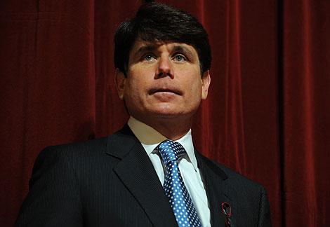 El ya ex gobernador de Illinois, Rod Blagojevich, en una imagen reciente. | AFP