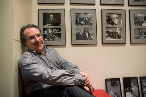 Josep Cuní, en su despacho. | Santi Cogolludo