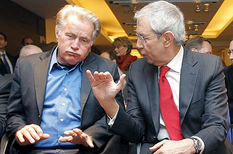 Martin Sheen y Tourio conversan en Madrid | EFE
