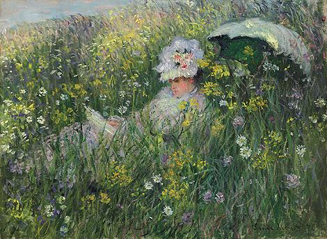 'Dans la prairie', obra de Claude Monet de 1876. | AFP