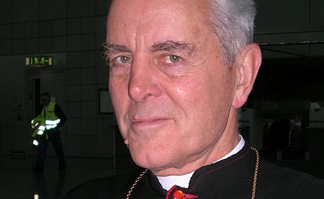 El obispo Williamson, en una imagen de 2007. | Reuters
