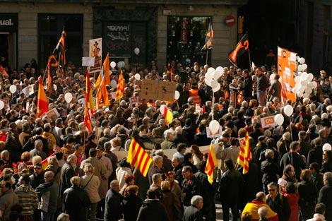 Un momento de la protesta. | Antonio Moreno