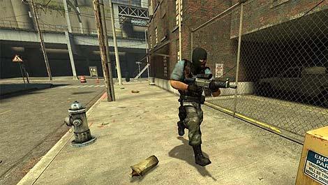 Pantalla del videojuego Counter Strike.