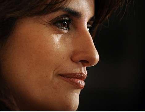 Penélope Cruz, durante la rueda de prensa. | AFP