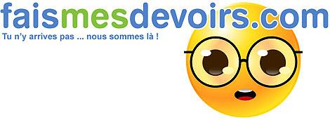 Logo del sitio web francés Faismesdevoirs.com