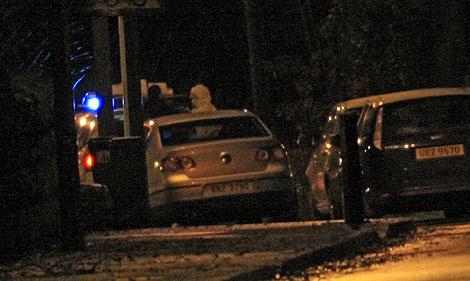 Las autoridades estudian el lugar del suceso. | Afp