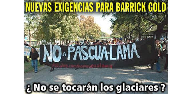 Una de las muchas imágenes de protesta contra el proyecto Pascua-Lama. (Foto: www.nuestrosparques.cl)