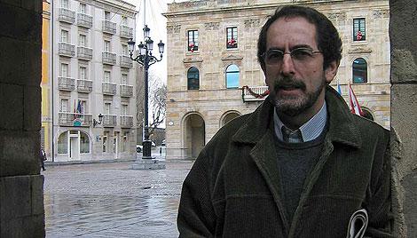 El arquitecto municipal Ovidio Blanco. | La Nueva España.