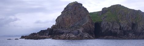 Vista de las islas Sisargas, en La Coruña. | Carlos Suarez