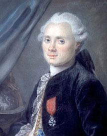 Retrato de Charles Messier a los 40 años.