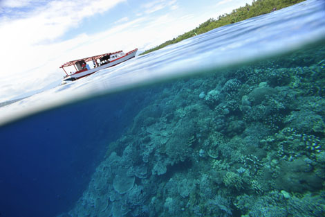 Bukanen Island, Indonesia. | Afp