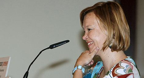 La secretaria de Organización del PSOE, Leire Pajín.  Efe