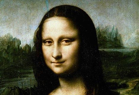 Detalle de 'La Gioconda' de Leonardo Da Vinci.