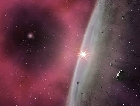 El Sistema Solar se originó a partir de una estrella gigant