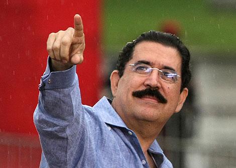 El presidente de Honduras, Manuel Zelaya.| Afp