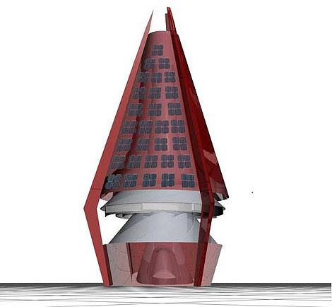 Imagen 3D del 'Tornado <span class=