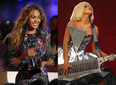 Beyoncé vs Lady Gaga 1249483066_0