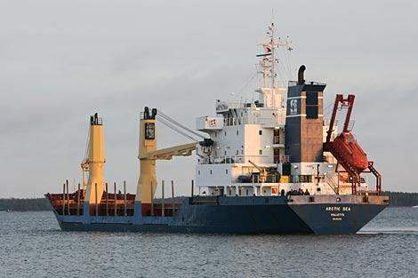 El carguero, en una imagen de diciembre. | AP/Pekka Laakso/Lehitukuva