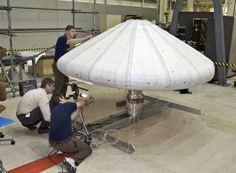 La NASA desarrolla un escudo para proteger sus naves