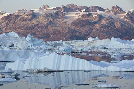 El glaciar Helheim , en Groenlandia | Efe.