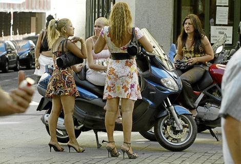 prostitutas en bailen putas trabajando