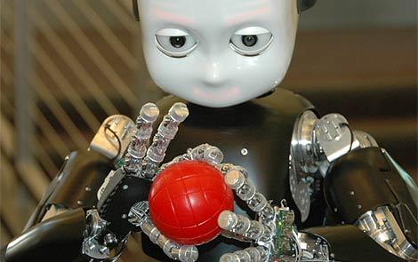 Una imagen de iCub. | RobotCub Consortium