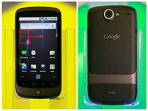 El frontal y el revs del Nexus One. | Reuters