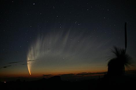 El gran cometa de 2007 McNaught C / 2006 P1. | R.H. McNaught