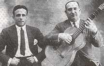 Con Ramón Montoya.
