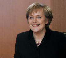 Merkel. | Afp