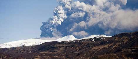 El volcán islandés estuvo en erupción durante varias semanas. | Efe.